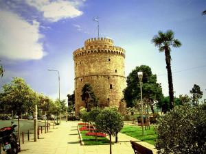 Белая Башня - символ города Салоники